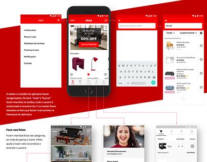 Etna Website & App • Concept Design