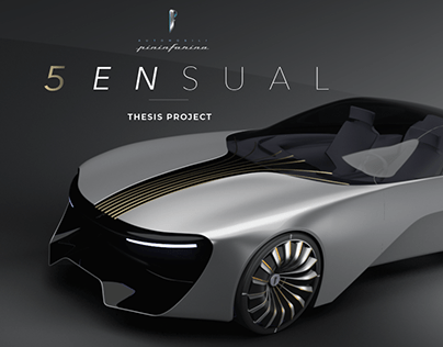Automobili Pininfarina 5ENSUAL - Thesis Project