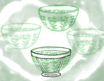Stoneware dish, Longquan kilns
