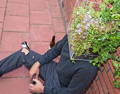 Joey the Box #floral #art #joeythebox #khalilovyusif
