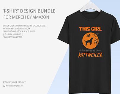 T Shirt design bundle for Merch by Amazon