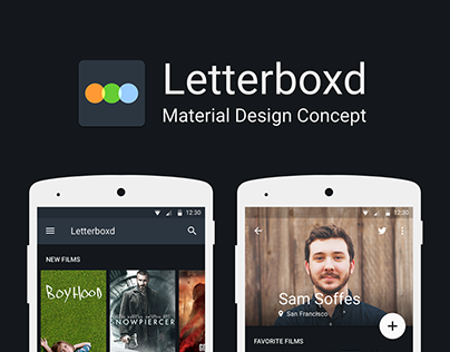 Letterboxd - Material Design