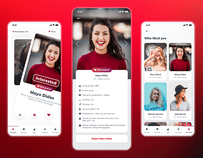 Dating App ( Swipe.Chat.Connect )