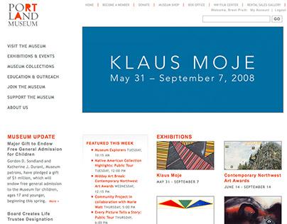 Portland Art Museum :: Design & Development