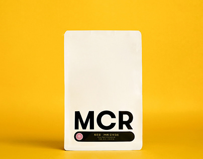 Packaging Design - MCR® coffee bag
