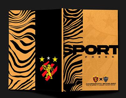 Sport Press - Layout Brasileirão 2021