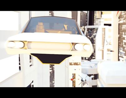 Mr Spaceman Short CGI