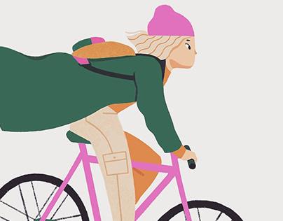 Autumn bikeride
