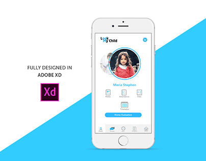LOOKMYCHILD Mobile Application #MadeWithXD