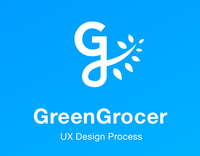 GreenGrocer - an UX case study and process development