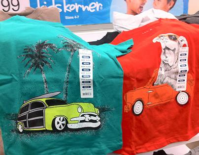 Retail Kids Graphic Tees