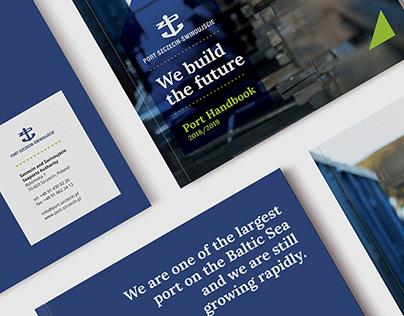 Port Szczecin-Świnoujście Brand Book - Editorial design