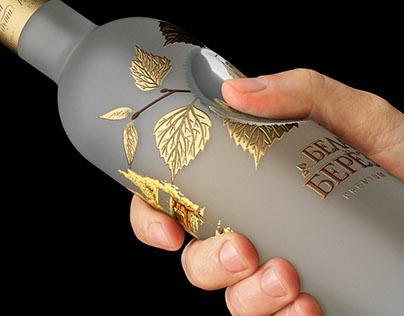 WHITE BIRCH Vodka. Redesign