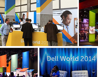 SIGNAGE + EXPERIENCE DESIGN: DELL