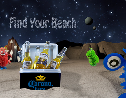 "Compositing - ""Find Your Beach"""