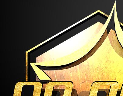 Logo de vector a Oro