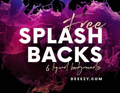 Amazing FREE Splash Backgrounds