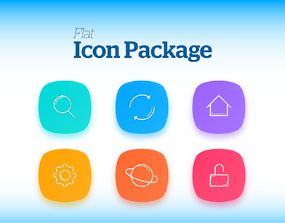 Flat Icon Package