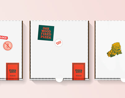 Pizza Loco - Restaurant Brand Design