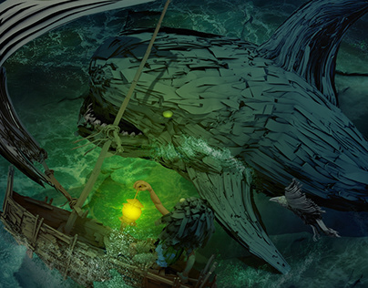 THE EXPLORER vs SHARK