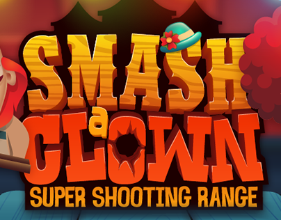 Smash a Clown - 2d graphics design