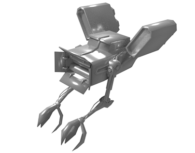 """FTC Ship """"Claws"""" (WIP)"""