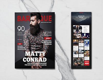 Barbeque l Dergi Kapağı ve Web Sitesi