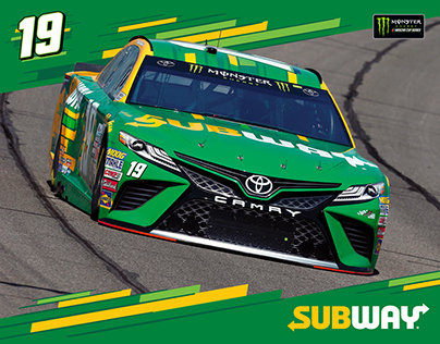 Subway | Daniel Suárez #19 Paint Scheme & Gear