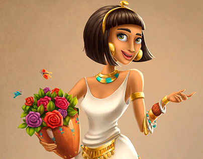"Characters for game ""Cradle of Empires"""