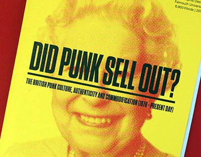 Did Punk Sell Out? Dissertation Design