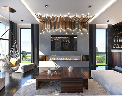 CONTEMPORARY INTERIOR DESIGN- RESIDENTIAL PROJECT