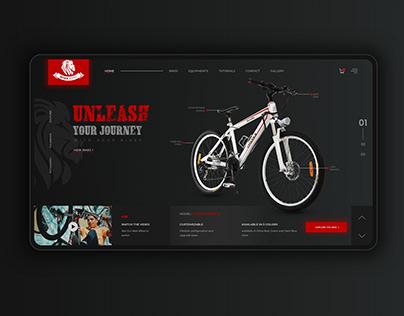 Bicycle E-com Website Design Concept