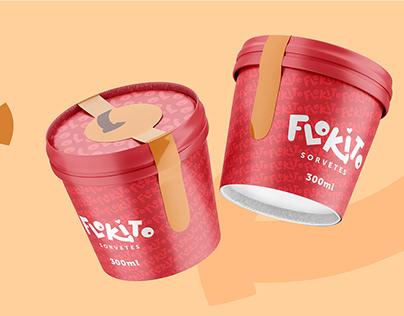 Flokito Sorvetes - Redesign