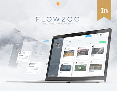 Flowzoo - Dashboard Design (UI/UX)