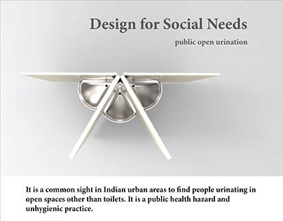 Design for Social Needs