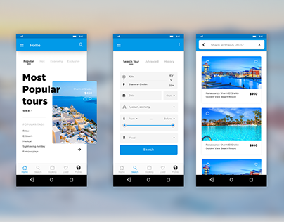 Travel app (Android)