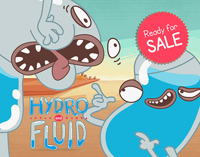 HYDRO AND FLUID - 2D Animation, Intersection