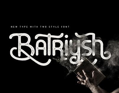 BATRIYSH - FREE FONT