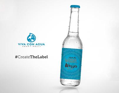 #CreateTheLabel  Wasser für alle. Alle für Wasser.