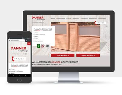 Website Danner Holzdesign