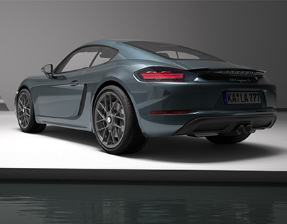 Porsche Cayman S Alias Modeling