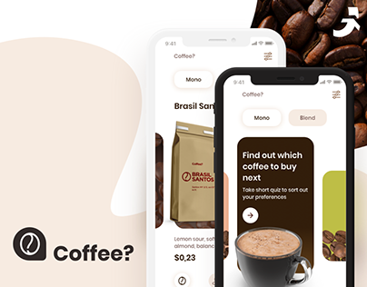 Coffee? - UI/UX Design for Mobile App