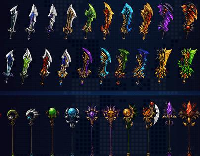 The Skull Weapon Design