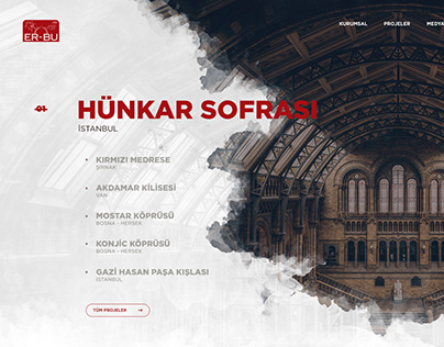 ERBU İnşaat - Web Project
