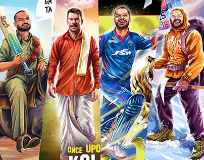 IPL2021-DC ILLUSTRATIONS