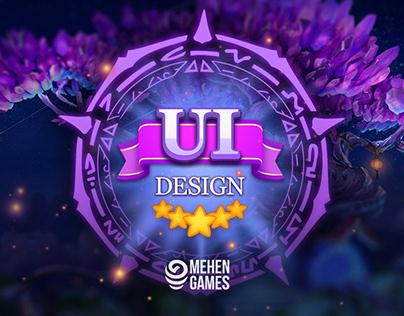 UI Design - Final Dungeon