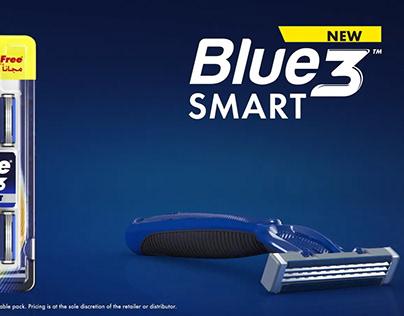 Gillette Blue Smart Animation