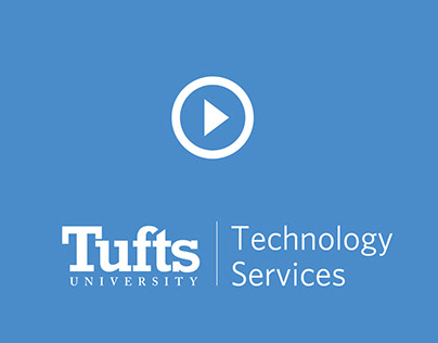 Tufts Technology Services promo core values