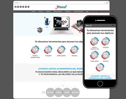 2tono - website