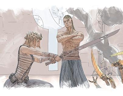 MEGA 5eme PARADIGME Diverse Illustrations